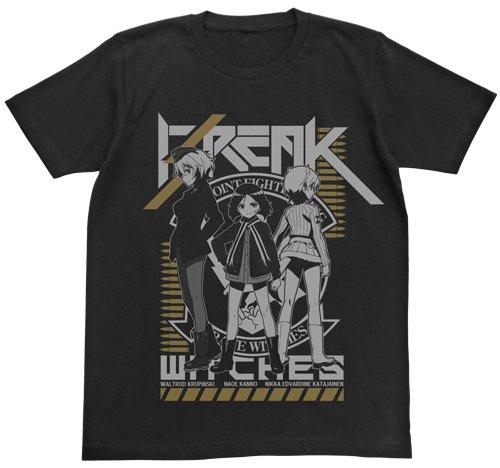 ブレイブウィッチーズ ブレイクウィッチーズTシャツ ブラック Mサイズ