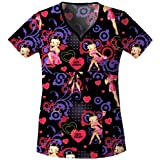 Disney's Flexible Betty Boop Valentine Fireworks Top QDQDBB