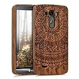 kwmobile Holz Hülle Natur Case für LG G3 - Handy