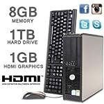 DELL PC HDMI 1000GB 8GB MEMORY CORE 2...