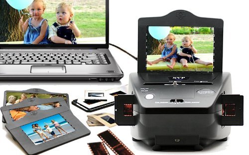 51fpz5Y TZL. SL500  SVP 3 in 1 PS9000 Digital Film, Photo, and Slide Scanner