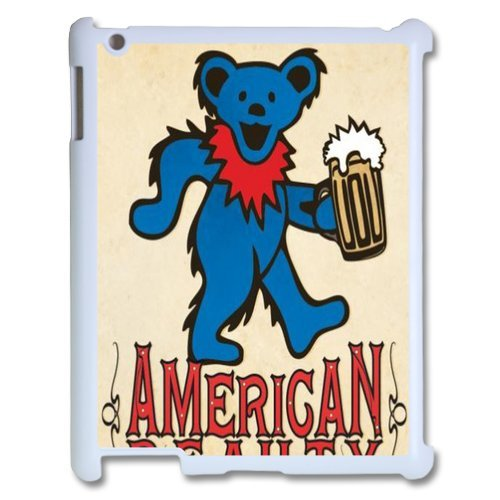 Generic Cell Phones Cover For Apple Ipad 3 Case Ipad 2 4 Case Customize Music Band Grateful Dead And Dancing Bears Hard Snap On Phone Cases