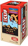 Clif Bar Energy Bar, Variety Pack of Chocolate Chip, Crunchy Peanut Butter, and Chocolate Chip Peanut Crunch, 2.4-Ounce Bars, Pack of 24
