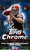 NFL 2014 Topps Chrome Football Hobby Box (24 packs, 1 autograph per box)