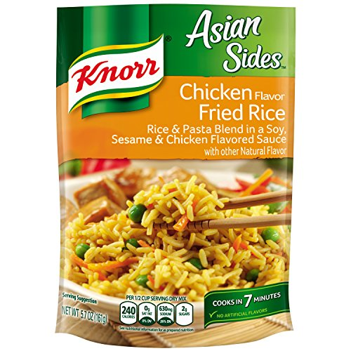 Knorr Asian Sides Rice Side Dish, Chicken Fried Rice 5.7 oz (Microwave Fried Rice compare prices)