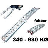 Pro Plus Rampe pliable en aluminium pour quai de chargement 340-680 kg