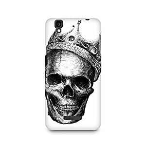 Mobicture Skull King Premium Printed Case For Micromax YU Yureka A05510