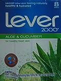 Lever 2000 Aloe & Cucumber Refreshing Bars Eight 4 Oz/113g