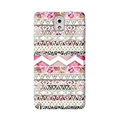 New Note3 Multi Color Pattern Phone Back Cover 121