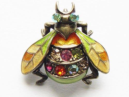 Colorful Crystal Enamel Wings Housefly Bee Bug