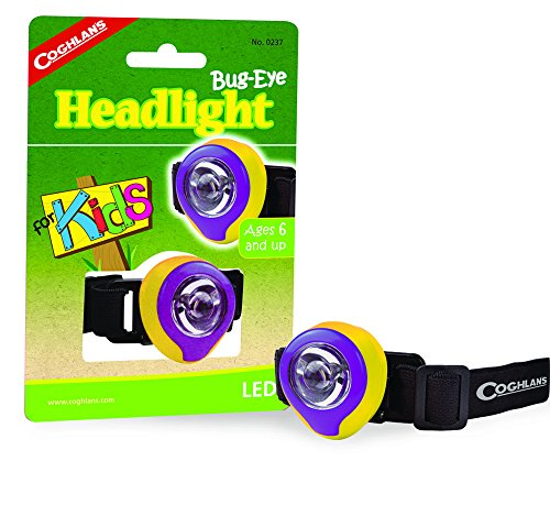 Coghlan's 237 Bug-Eye Headlight for Kids (Headlamps Kids compare prices)