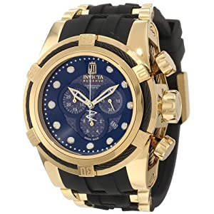 Jason Taylor for Invicta Collection 12955 BOLT Zeus Chronograph Grey Carbon Fiber Dial Black Polyurethane Watch