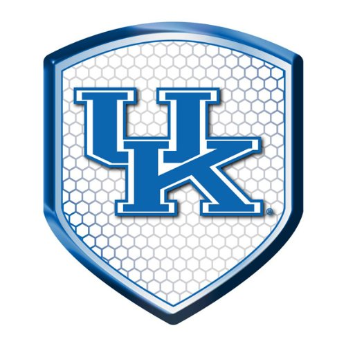 Kentucky Wildcats UK NCAA Reflector Decal Auto Shield for Car Truck Mailbox Locker Sticker College Licensed Team Logo at Amazon.com