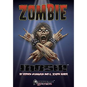 Zombie Mosh! board game!