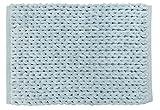 Park B. Smith Chenille Knit Cotton Bath Rug, 24 by 40-Inch, Aquamarine