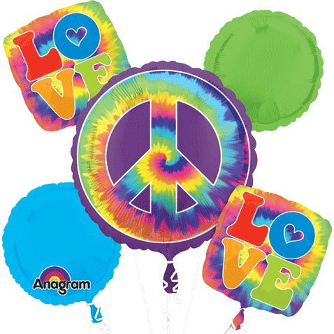 60's Feeling Groovy Bouquet Of Balloons