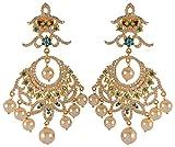 Violet & Purple Gold Alloy Dangle & Drop Earrings for Women (1000030758)
