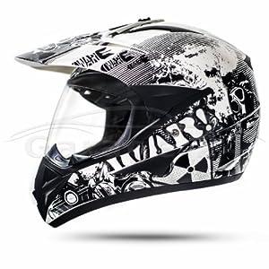Stark - Casque Enduro Moto Cross Quad Atv Moto Certifié Cee-2205 800