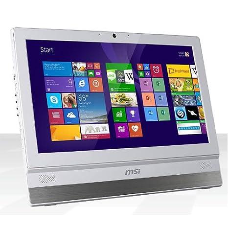 MSI AIO ADORA22 2M-055EU Ordinateur de bureau Tout-en-Un Non Tactile 21'' (53,34 cm) Blanc (Intel Core i3, 4 Go de RAM, 500 Go, Intel HD Graphics 4600, Windows 8.1)