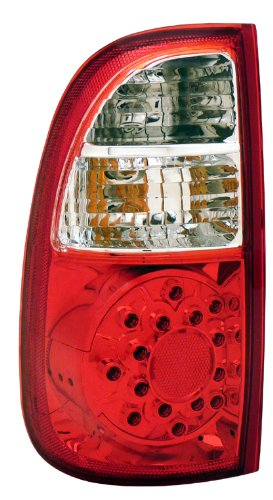 Cg Distribution 03-Tr05Tled Toyota Tundra Led Taillights Red/Clear (Std Bed Regaular Cab Access)