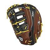 Wilson 2016 A2K 2800 First Base Baseball Glove, Walnut/Black/Blonde, Right Hand Thrower, 12/Walnut/Black/Blonde