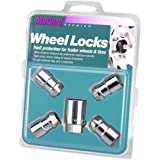 McGard 74041 Chrome Cone Seat Trailer Wheel Locks (1/2