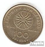 Grecia km-No.. : 159 1990 Aluminio-Bronce 1990 100 Drachmen Alexanel el grandes (monedas para los coleccionistas)