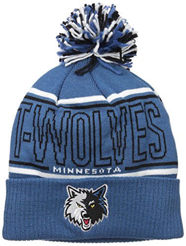 NBA Minnesota Timberwolves Men's Energy Stripe Cuffed Knit Pom