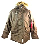 Alpha Industries Men's N3b Nylon Parka