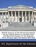 Otolith Analysis of Pre-Restoration Habi...