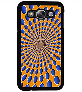 ColourCraft Illusive Design Back Case Cover for SAMSUNG GALAXY E5