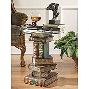 Design Toscano KY4049 Stacked Volumes Sculptural End Table