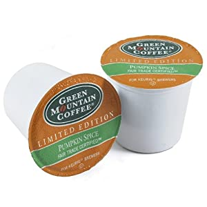 Green Mountain Coffee Fair Trade Pumpkin Spice Keurig K-Cups from Green Mountain Coffee