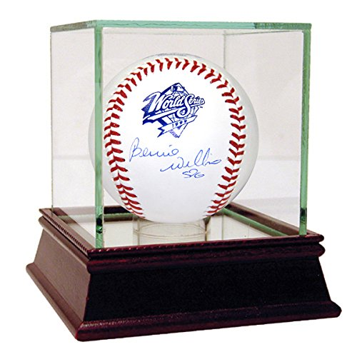 Bernie Williams Signed 1999 World Series Baseball (Mlb Auth) front-1016014