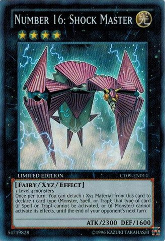 Yu-Gi-Oh! - Number 16: Shock Master (CT09-EN014) - 2012 Collectors Tins - Limited Edition - Super Rare (Yugioh Cards Master compare prices)