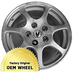 ACURA RSX 16X6 7 SPOKE Factory Oem Wheel Rim- MACHINED FACE SILVER – Remanufactured