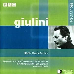 J.S. バッハ:ミサ曲 ロ短調 BWV 232 (ジュリーニ)(1972)
