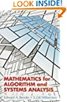 Mathematics for Algorithm and Systems...