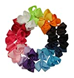 Premium 6in Hair Bows for Teens Women Girls Baby Gifts Accessories 15pcs