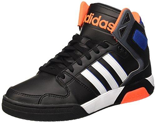 Adidas Herren Bb9Tis Basketball-Schuhe, Mehrfarbig (Cblack/Ftwwht/Sorang), 42 EU