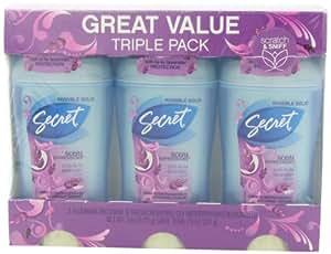 Secret Scent Expressions Invisible Solid Ooh-La-La Lavender Scent Antiperspirant & Deodorant Triple Pack 7.8 Oz