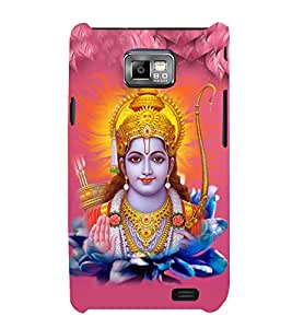Lord Rama 3D Hard Polycarbonate Designer Back Case Cover for Samsung Galaxy S2 :: Samsung Galaxy S2 i9100