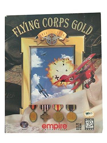 Flying Corps Gold 1914-1918 World War I Flight Simulator MSDOS or Windows 95 - Full Retail Box