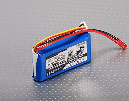 Turnigy 1000mAh 2S 20C Lipo Pack HobbyKing RC Battery