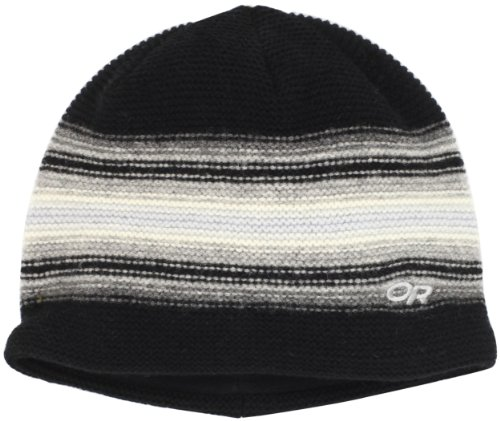 Outdoor Research Men's Spitsbergen Hat (Black/Charcoal, One Size)
