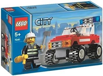 Lego - City - jeu de construction - La voiture des pompiers