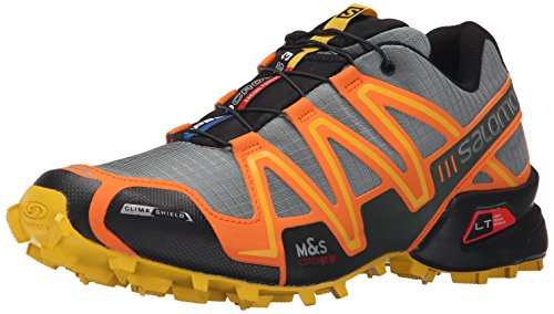Salomon Men's Speedcross 3 CS Trail Running Shoe, Light TT/Clementine-X/Bee-X, 10.5 D US (Speedcross Cs Salomon compare prices)