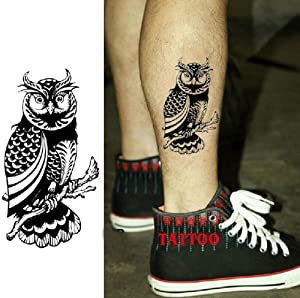 GC Body Makeup Scar Cover(Caesarean or other scar)Owl Type Foot Temporary Tattoo Stickers LG-36