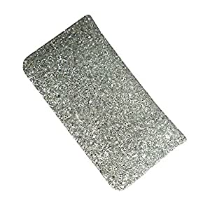 i-KitPit : PU Leather Wallet Flip Pouch Case For Sony Xperia U (SILVER WHITE)