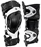 Asterisk Ultra CELL D/C Knee Brace Protection System (Black/White, Small) - Pair
